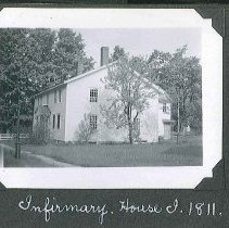 "Image of ""Infirmary. House I, 1811"" - Canterbury, NH"