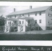 """Image of """"Enfield House. House F. 1836."""" - Canterbury, NH"""