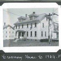 "Image of ""Creamery House C. 1904-1905"" - Canterbury, NH"