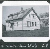 "Image of ""Carpenter's Shop S.E."" - Canterbury, NH"