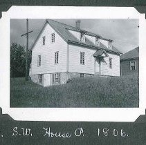 "Image of ""S.W. House P. 1806"" - Canterbury, NH"