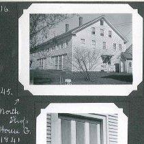 "Image of ""North Shop. House G. 1841."" - Canterbury, NH"