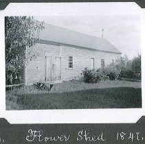 """Image of """"Flower Shed 1847."""" - Canterbury, NH"""