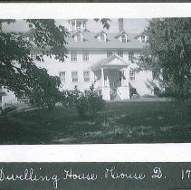 """Image of """"Dwelling House. House D. 1793"""" - Canterbury, NH"""
