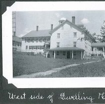 """Image of """"West Side of Dwelling House"""" - Canterbury, NH"""