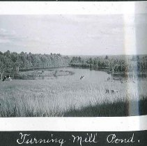 "Image of ""Turning Mill Pond, E."" - Canterbury, NH"