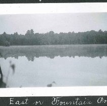 "Image of ""East or Fountain Pond"" - Canterbury, NH"
