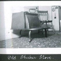 "Image of ""Old Shaker Stove"" - Canterbury, NH"