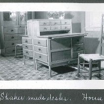 "Image of ""Shaker Made Desks. House F- *4"" - Canterbury, NH"
