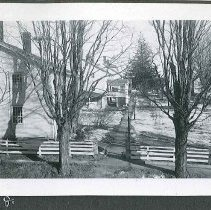 Image of [View of the village Taken From the Main Road] - Canterbury, NH