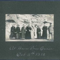 "Image of ""At Hair Pin Curve. Oct. 11th, 1915"" -"