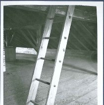 Image of [Built in Ladder, Attic of Sisters' Shop, South Family] - Watervliet, NY