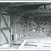Image of [Interior of Wood House, South Family] - Watervliet, NY