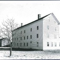 Image of [Laundry Building and Old Wood House] - Hancock, MA