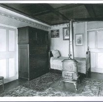 Image of [Eldress Anna Case's Room in Dwelling House, South Family] - Watervliet, NY