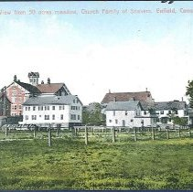 Image of View from 50 Acres Meadow, Church Family of Shakers, Enfield, Conn - Enfield, CT