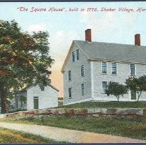 Image of The Square House, Built in 1776. Shaker Village, Harvard, Mass. - Harvard, MA