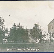 Image of West Family. Shakers. - Watervliet, NY