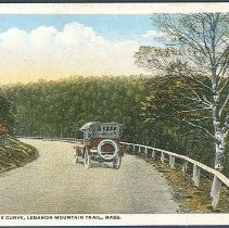 Image of Rounding the Curve, Lebanon Mountain Trail, Mass. - Watervliet, NY