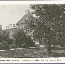 Image of Otterbein Girls' Building. Construced in 1844. Brick Burned on Farm. - Union Village, OH