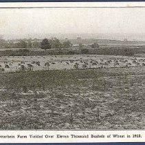 Image of The Otterbein Farm Yeilded over Eleven Thousand Bushels of Wheat in 1913 - Union Village, OH