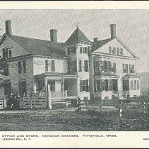 Image of Office and Store, Hancock Shakers, Pittsfield Mass. - Hancock, MA