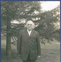 "Image of ""Eld. Isaac Anstatt, of 2nd Family, Watervliet N.Y. (Taken 1911)"" - Watervliet, NY"