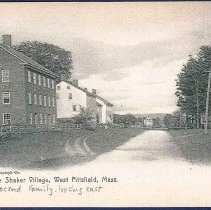 Image of The Shaker Village, Pittsfield Mass. [Second Family, Looking East.] - Hancock, MA