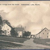 Image of Section of the Shaker Village from the South, Sabbathday Lake, Maine - Sabbathday Lake, ME