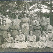 Image of [Group of South Family Shakers] - Enfield, CT