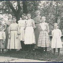 Image of [Shaker Women with Children] - Watervliet, NY