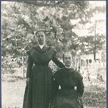 Image of [Maggie Dahm and Mary Caldwell] - Watervliet, NY