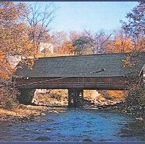 Image of The Old Shaker Covered Bridge, Enfield, N.H. - Enfield, NH