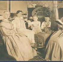 Image of [Group of South Family Shakers] - Watervliet, NY