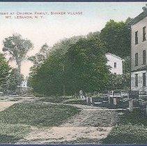 Image of Street at Church Family, Shaker Village Mt. Lebanon N.Y. - Mount Lebanon, NY