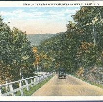 Image of View on the Lebanon Trail Near Shaker Vllage, N.Y. - Mount Lebanon, NY