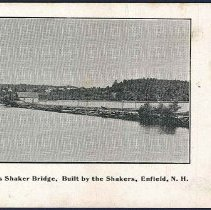 Image of The Famous Shaker Bridge, Built by the Shakers, E - Enfield, NH