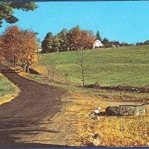 Image of Approach to Shaker Village - Canterbury, NH