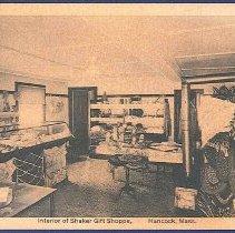 Image of Interior of Shaker Gift Shoppe, Hancock, Mass. - Hancock, MA