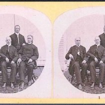 Image of Group of Shakers - Canterbury, NH