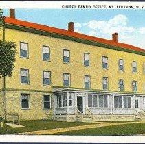 Image of Church Family Office, Mt. Lebanon N.Y. - Mount Lebanon, NY