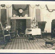 """Image of """"Music Room, Christmas, 1923"""" - Hancock, MA"""