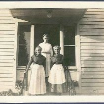 "Image of ""Adeline Patterson, Manette Estey - Alice Braisted (Srs. From Enfield, Ct."" - Enfield, CT"