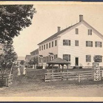 """Image of """"Meeting House at Enfield, Conn."""" - Enfield, CT"""