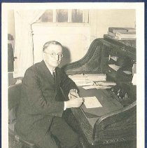 Image of [Minister Arthur Bruce] - Canterbury, NH