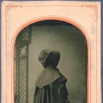 Image of [Shaker Wearing a Cloak] - Canterbury, NH