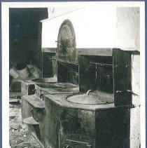 Image of [Kitchen Range, South Family] - Mount Lebanon, NY