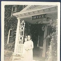 Image of [Unknown Sister in Front of the Office] - Canterbury, NH