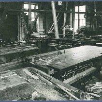 Image of [Sister Lillian Barlow's Chair Shop] - Mount Lebanon, NY