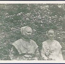 Image of [Unknown Sister with Sister Ida Crook] - Canterbury, NH